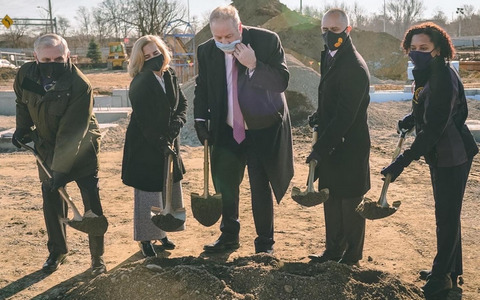 Groundbreaking held for 9th PCHC health center site